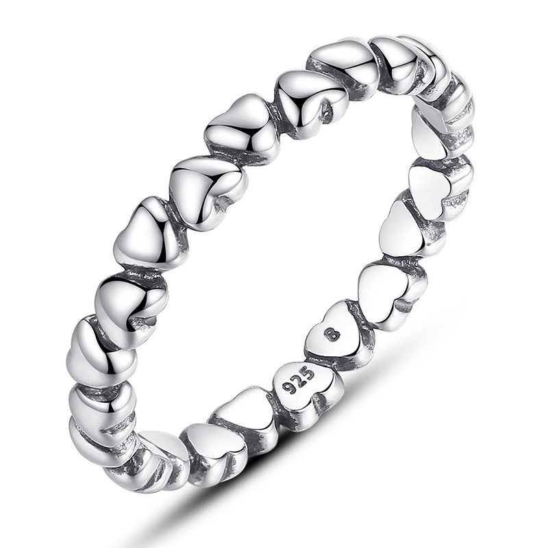 a34afa7ed ... discount code for authentic 925 sterling silver love heart compatible  with fits pandora ring 72186 d26a7
