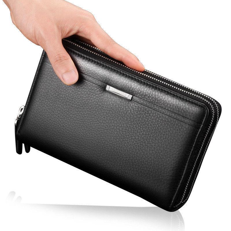 Men's Business Long Wallet